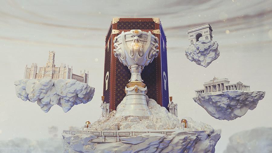 【ルイヴィトン×LoL】ルイヴィトンデザインによるチャンピオンスキンが登場!?Worlds2019のサモナーズカップのケースを制作することも決定!!